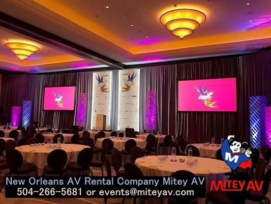 Audio Visual Equipment Rental in New Orleans