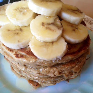Sunday Morning Oatmeal Coconut Flour Pancakes (gluten free)