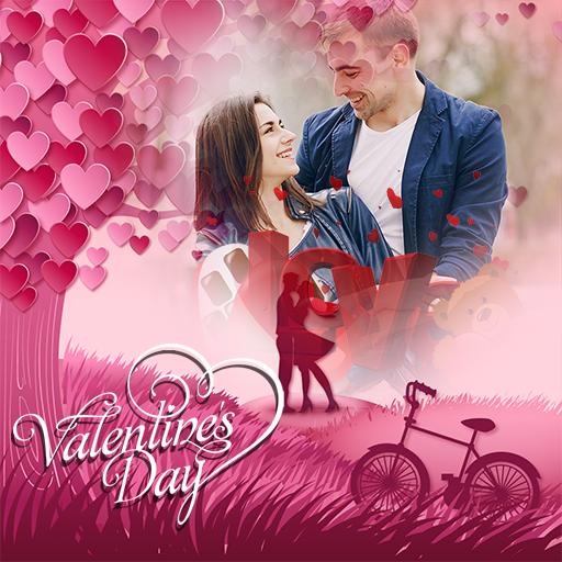Valentine Week Photo Frames Maker 2018