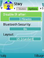 Stowaway keyboard driver: Indstillinger - mobilmag.dk