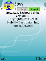 Stowaway keyboard driver: About - mobilmag.dk