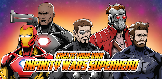 Create your Own Avenger Infinity Wars Hero APK