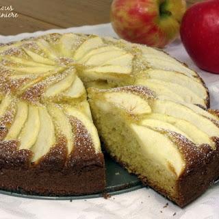 Versunken Apfelkuchen (German Apple Cake)