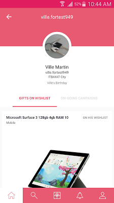 Gava – Give gifts together - screenshot