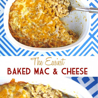 The Easiest Baked Mac & Cheese