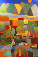 Photo: Knoxville--The City With Balls . acrylic . 36x48