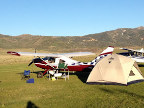 Photo: Our Camp In The Grass At Smiley Creek
