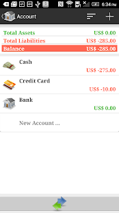 AndroMoney ( Expense Track ) - screenshot thumbnail