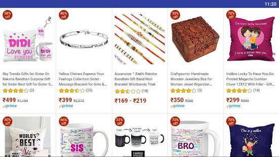Download Raksha Bhandhan gifts for Brothers and Sisters For PC Windows and Mac apk screenshot 5