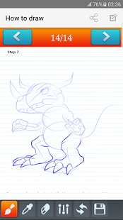 Download how to draw Digimon for Windows Phone apk screenshot 2