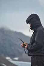 Photo: Point Radio avec le Leenan et l'équipe de grimpeur