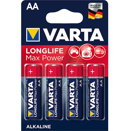 VARTA LONGLIFE Max Power AA/LR6 4-PACK