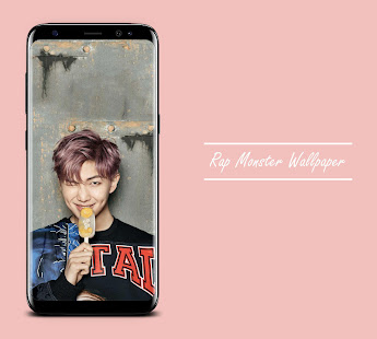 Bts Rap Monster Wallpaper Kpop Applications Sur Google Play