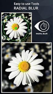 Efekty rozostření kamery DSLR - náhled