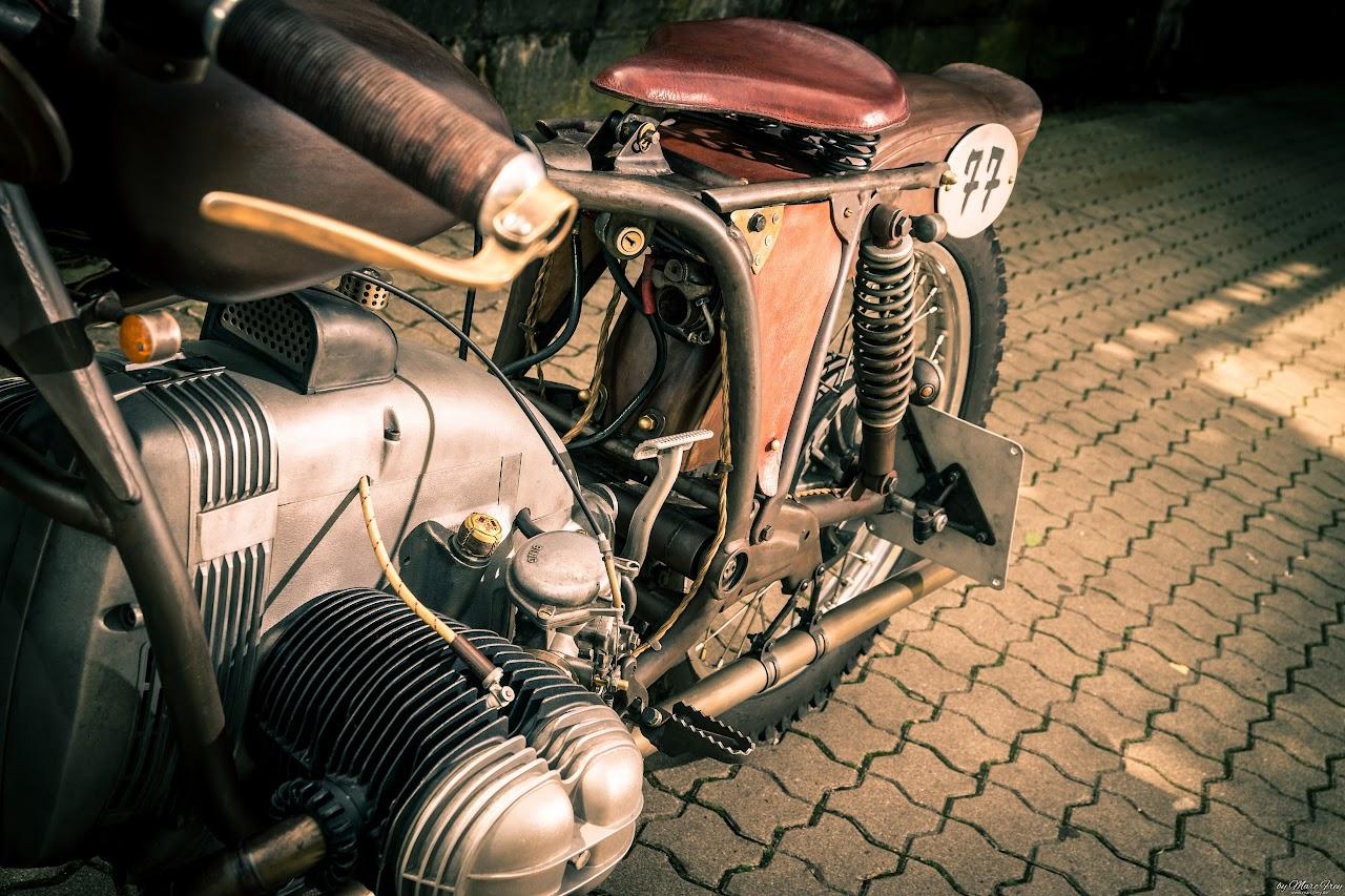 Boardtracker vom Feinsten auf BMW Motorrad 2-Ventil Basis