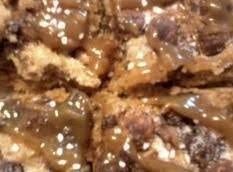Gooey Cereal Pb Cookie Bars W/salted Caramel Recipe