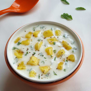 Mango Mint Raita Recipe