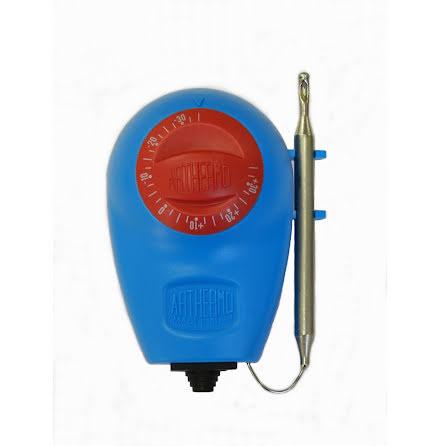 Termostat kapillär, -35.+35C, bulb på sidan, kapslad, 16A
