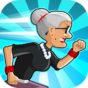 Download Game Angry Gran Run [Mod: a lot of money] APK Mod Free