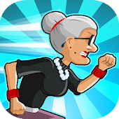Angry Gran Run - Running Game Android APK Download Free By Ace Viral