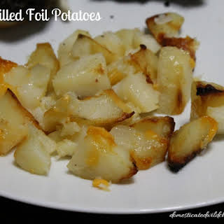 Grilled Foil Potatoes.