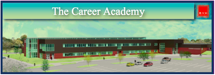 Architectural rendering of The Career Academy at Southeast Community College