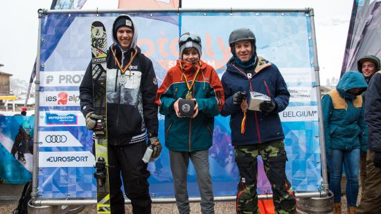 BK SNowjam Junioren ski 550 309