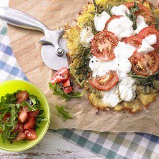 "Rosti ""Pizza"" with Salad Recipe"