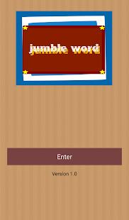 Jumble Word - náhled