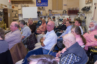 Photo: A good crowd for the meeting this month.