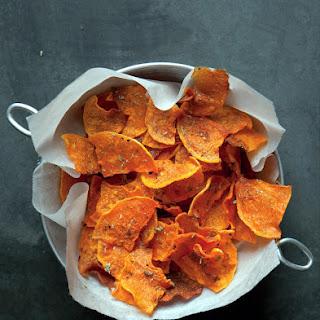 Butternut Squash Veggie Chips Recipe With Herbes de Provence