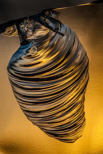 Honey pot by Joggie van Staden - Abstract Macro ( abstract, abstract art, glass, close up, makro )