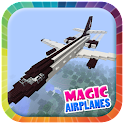 Magic Minecraft Airplanes icon