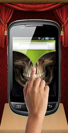 Skull Zip Screen Lock 1.0 screenshot 253519