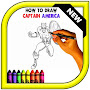 How to Draw Captain America Easy APK icon