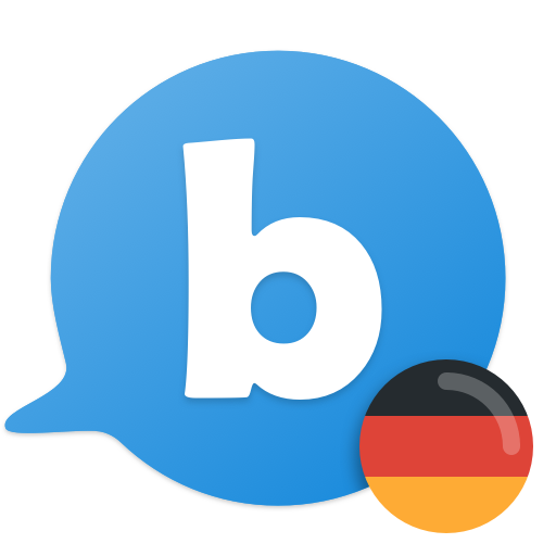Learn to speak German with busuu Icon