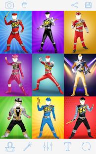 Rangers Costume Photo Montage 1
