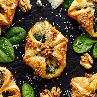 Broccoli Puff Pastry Tarts.