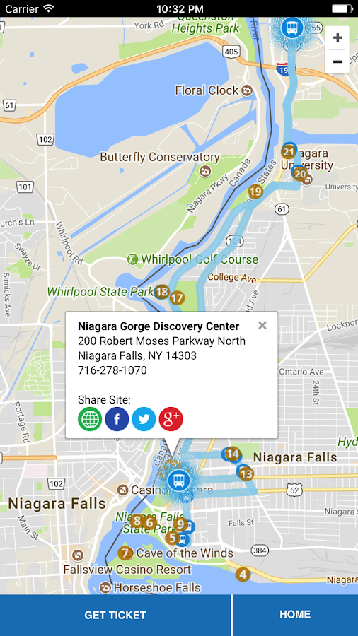 Discover Niagara Shuttle- screenshot