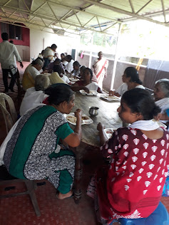 Assemblies of God Punnaykadu, Balaramapuram Church members visits our old age home to give help to Old Aged Parents 19/October/201