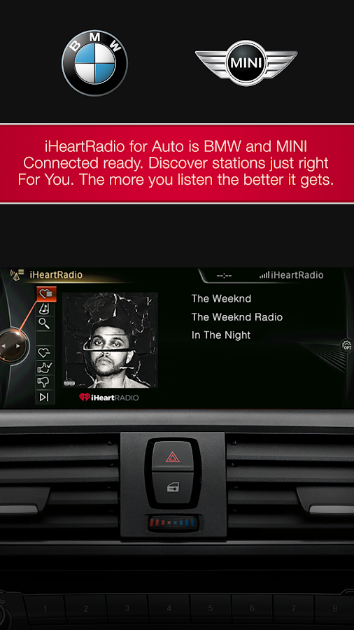 iHeartRadio for Auto- screenshot