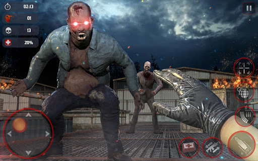 DEAD HUNTING EFFECT 2: ZOMBIE FPS SHOOTING GAME  screenshots 1