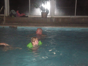 Photo: Jackson w/ his water wings