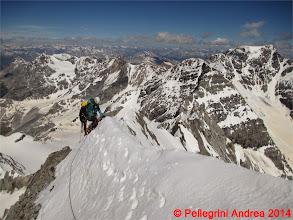 Photo: IMG_8940 Lorenzo e Riccardo sull ultimo tratto della Suldengrat