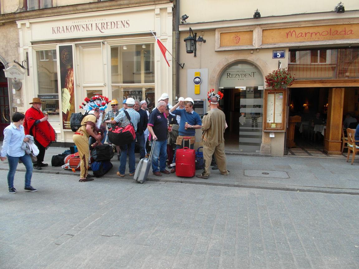 Wycieczka fanów Village People.JPG