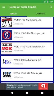 Georgia Football Radio - náhled