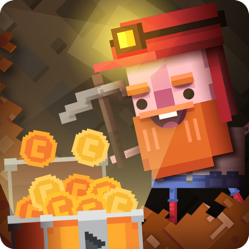 Diggerman - Arcade Gold Mining Simulator game (apk) free download for Android/PC/Windows