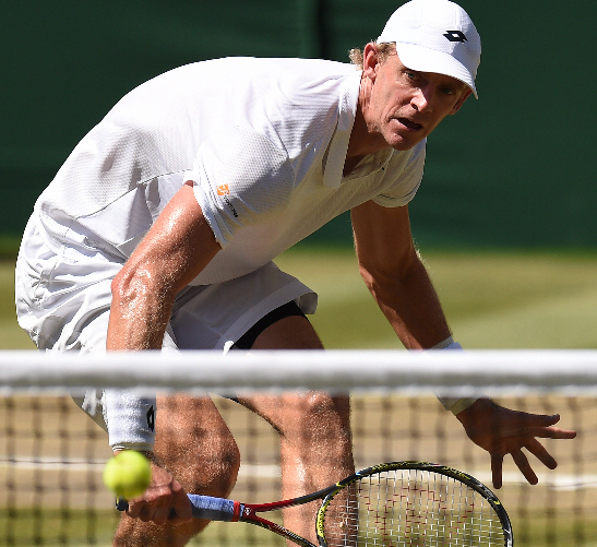 Kevin Anderson during the Men's Wimbledon final on 15 July 21018.