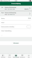 Screenshot of Nagelmackers Mobile Banking