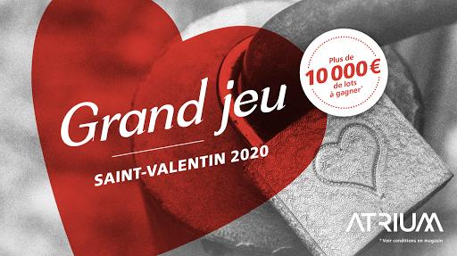 Grand Jeu Saint-Valentin 2020 Atrium